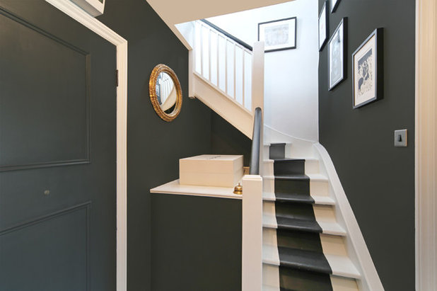 Eclectic Staircase by ALL & NXTHING