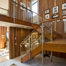 Contemporary Staircase by Silver Sparrow Development