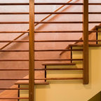 Spanish Colonial Revival Southwestern Staircase Los