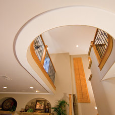 Modern Staircase by TRUADDITIONS