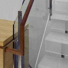 Modern Staircase by Zack de Vito Architecture + Construction