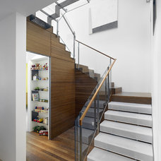 Contemporary Staircase by Zack|de Vito Architecture + Construction