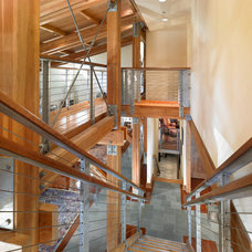 Modern Staircase by DxDempsey Architecture