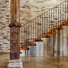 Traditional Staircase Lake Austin