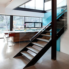 Modern Staircase by Merzbau Design Collective