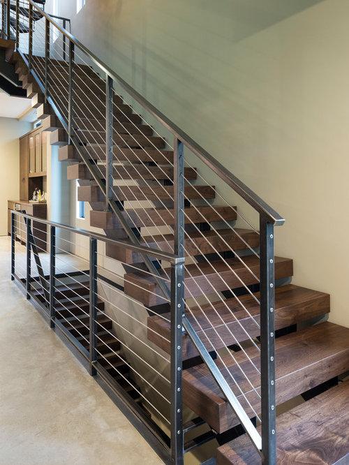 Fotos de escaleras dise os de escaleras modernas con for Escaleras suspendidas