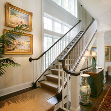 Traditional Staircase by Johnson Design Inc.