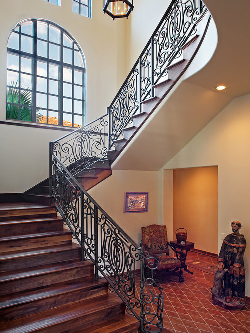 Mediterranean Staircase Tower : Beautiful stair design ideas remodel pictures houzz