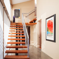 Contemporary Staircase by Pam Stanek, ASID - The Interior Design Firm