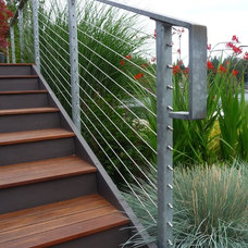 Contemporary Staircase by Lankford Associates Landscape Architects