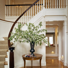 Traditional Staircase by Siemasko + Verbridge