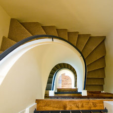 Modern Staircase by Aulik Design Build