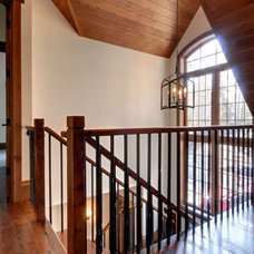 Traditional Staircase by Urban Rustic Living