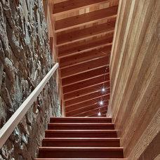 Contemporary Staircase by jones | haydu