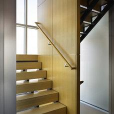 Modern Staircase by Vandeventer + Carlander Architects