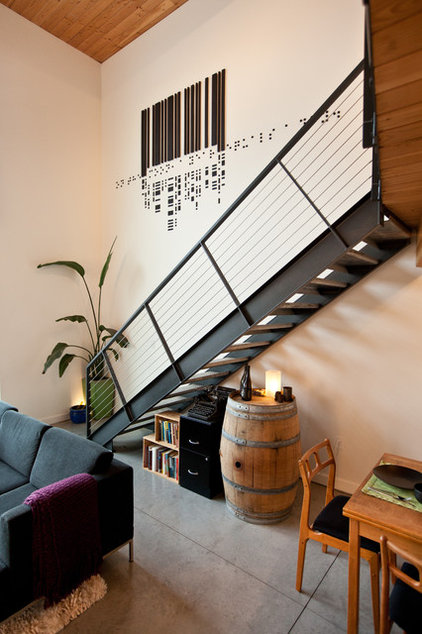 Industrial Staircase by Goodspeed Architecture