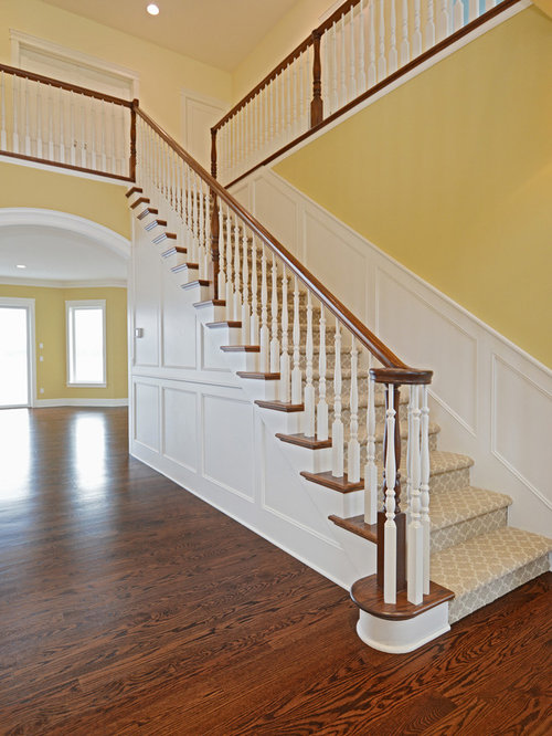 Craftsman Staircase Design Ideas Pictures Remodel Amp Decor
