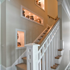 Traditional Staircase by Sheridan Interiors
