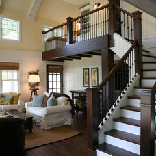 Traditional Staircase by Interior Changes home design