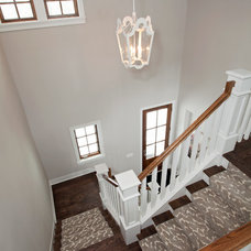 Transitional Staircase by REFINED LLC