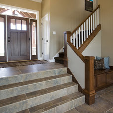 Traditional Staircase by By Brooke, LLC