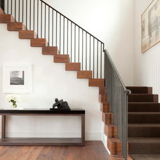 Transitional Staircase by Kurt Baum & Associates