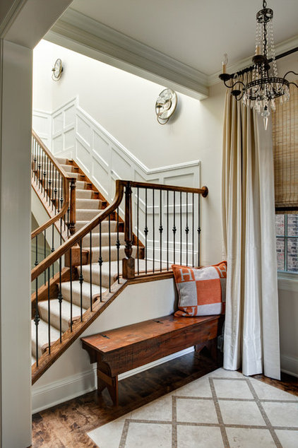 Traditional Staircase by Lewis Giannoulias (LG Interiors)