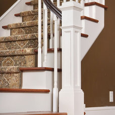 Traditional Staircase by Artistic Renovations of Ohio LLC