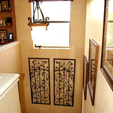 Mediterranean Staircase by Speir Faux Finishes, Inc.