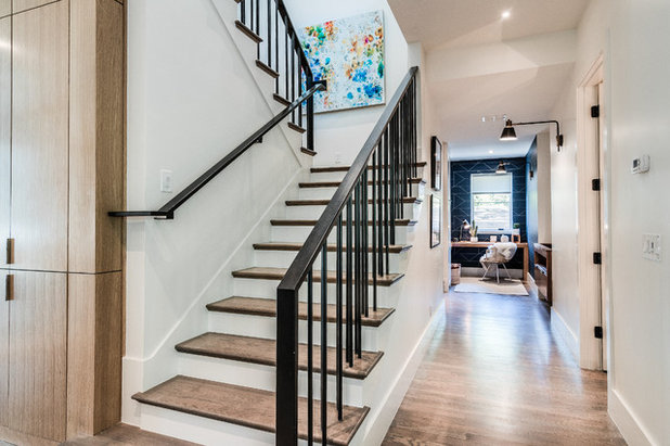 Contemporary Staircase by Urbanology Designs
