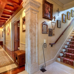 Inspiration for a timeless staircase remodel in Miami