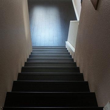 Laminate Floors and Custom Stairs
