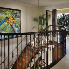 Tropical Staircase by tuthill architecture