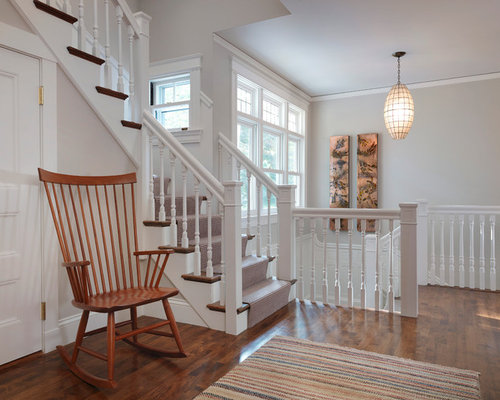 White Stair Railing Houzz