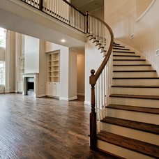 Traditional Staircase by New Leaf Construction