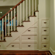 Traditional Staircase by Kaja Gam Design, Inc. & KGHome