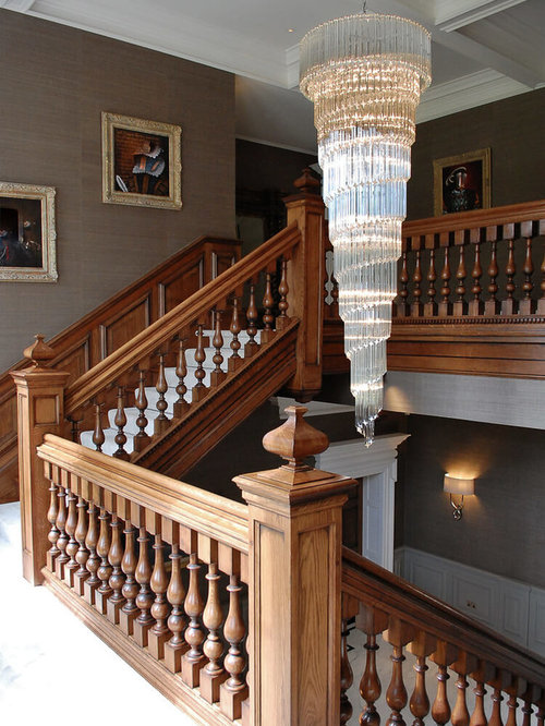 Georgian staircase design ideas remodels photos for Georgian staircase design