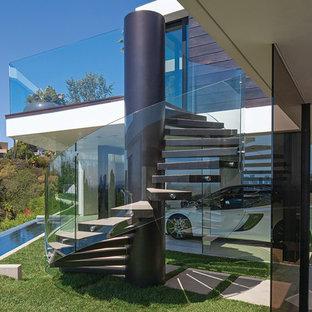 Идея дизайна: лестница в современном стиле