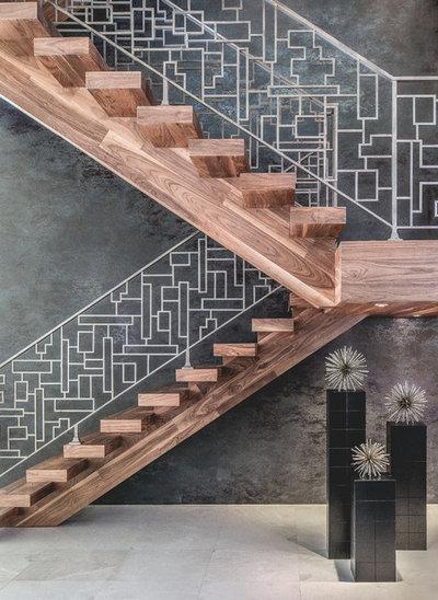 コンテンポラリー 階段 by DeCurtis Design