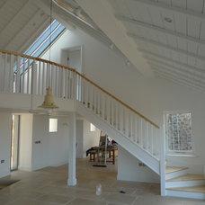 Contemporary Family Room by TS Associates