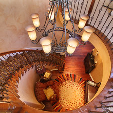 Eclectic Staircase by Elizabeth Leahy, AKBD, Allied ASID