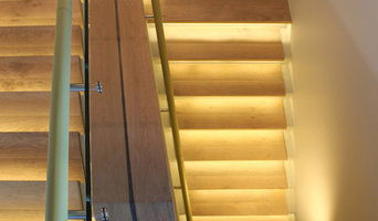 Leather handrail, Darling Point, Sydney