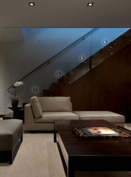Modern Staircase by 186 Lighting Design Group - Gregg Mackell