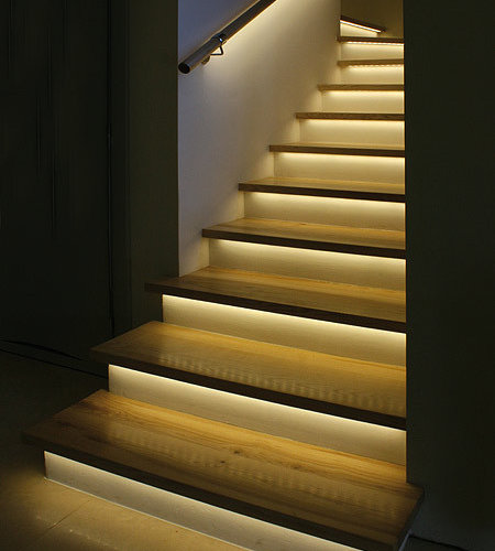 Led Stair Lights Home Design Ideas, Pictures, Remodel And