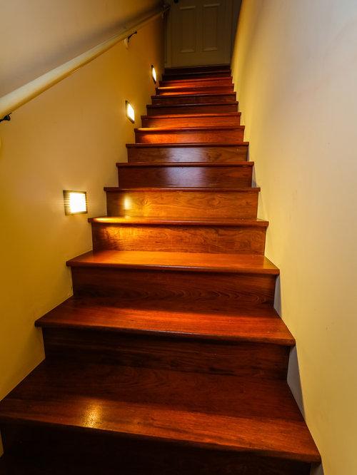Lighting Basement Washroom Stairs: LED Staircase Lighting