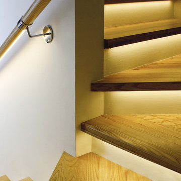 LED Stairway Accent Lighting