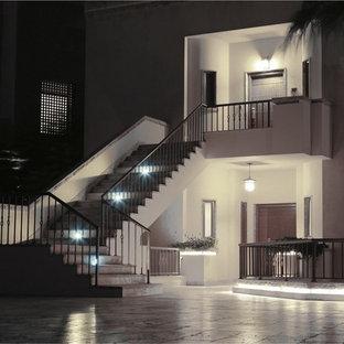 Idéer för en medelhavsstil trappa