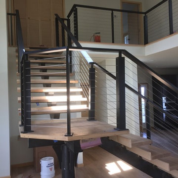 Lee Residence--Contemporary Interior Stairs