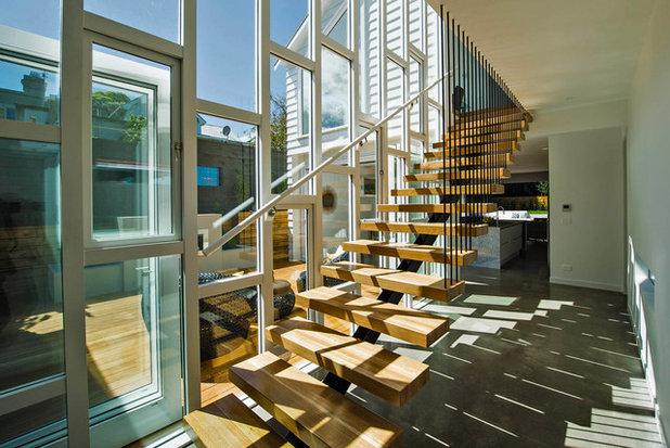 Contemporary Staircase by Metropolitan Architecture Studio