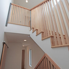 Modern Staircase by First Lamp